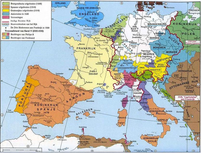 Heloohaloo 25 Het Beste Kaart Europa 1980